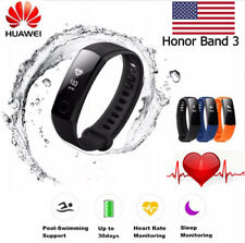 🌟Original NEW Huawei Honor Band 3 Fitness Tracker IP67 Bluetooth Smart Watch BK