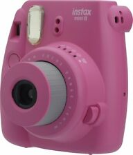 Fujifilm Instax Mini 8 Instant Film Camera (Hot Pink) Fuji Polaroid Fast Print