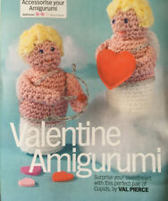 CROCHET PATTERN Cupid Toy Bow and Arrow Valentine Toys Childrens Patons 4 ply
