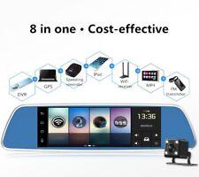 "3G Navi GPS Kamera WIFI 7"" HD Dual Lens Auto DVR  Rückspiegel Android Dashcam"