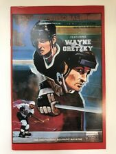 WAYNE GRETZKY COMIC BOOK Sports Personalities *NEAR MINT* 1991 w/ Trading Cards