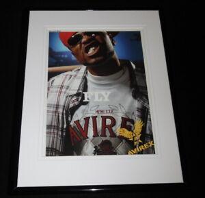 Method Man 2005 Avirex Framed 11x14 ORIGINAL Advertisement