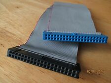 """IDE PATA 40 pins / 80 wires FLAT Ribbon CDROM Hard Cable 9"""" for DESKTOP -US Ship"""