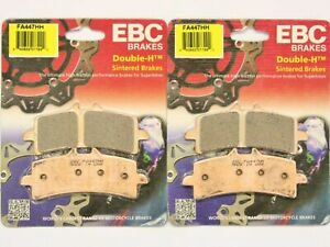 2007 DUCATI 1098 S TRICOLORE - FRONT EBC HH RATED SINTERED BRAKE PADS - 2 PAIRS