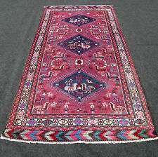 Alter Orient Teppich 201 x 102 cm Kazak Kasak Kaukasus Old Caucasian Carpet Rug