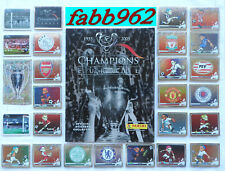 Champions of Europe 1955/2005 Panini Album+Complete Set Ⓒ