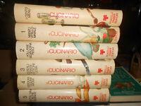 LIBRO:il CUCINARIO FABBRI ROGGERO e VERONELLI 6 volumi 1977 COMPLETA