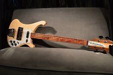 New! Rickenbacker 4003 S Electric Bass Mapleglo Auth. Dealer w/ Hard Case