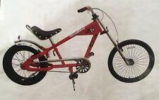 "Schwinn 20"" (50cm) Sting Ray Chopper Stingray Bicycle Red Bike 1"