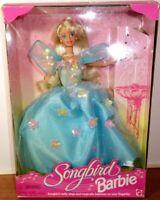 Vintage 1995 Songbird Barbie Singing Songbird Mattel No.14320 Damaged Box As Is