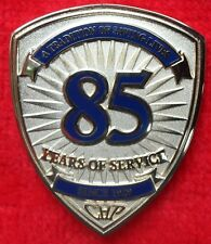 CALIFORNIA HIGHWAY PATROL 85TH ANNIVERSARY PATCH COIN (ELA CHP LAPD POLICE)