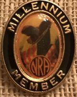 Vintage NRA National Rifle Association Millennium Member Lapel Pin