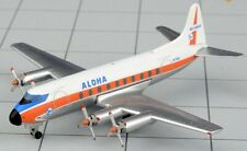 Aeroclassics ACN7410 Aloha Airlines Viscount 700 N7410 Diecast 1/400 Model Plane