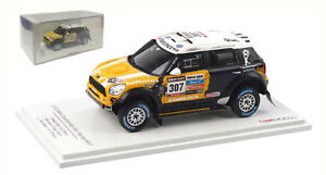Truescale Mini Countryman All4 Racing #307 Dakar Rally 2013 - L Novitskiy 1/43
