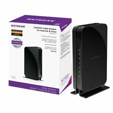 Netgear® CM500V 16x4 DOCSIS 3.0 680Mbps High Speed Cable Modem with Voice Phone