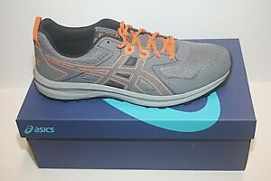 Men's Asics Men's Trail Scout Trail Running Sneakers Metropolis/Orange Sz 14 NIB