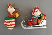 NEW Chip & Dale Disney Christmas Magic Ornament #26231 108 121 MIB