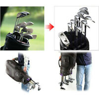14pc Golf Bag Club Organizer Clip Clamp Holder Set For Wedge Iron Driver Putter