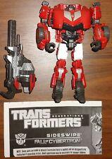 Transformers Generations Sideswipe Fall Of Cybertron