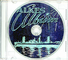 USS Alkes AK 110 CRUISE BOOK WWII CD  RARE US Navy