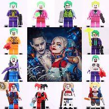 2018 12pcs set Super Hero All Joker harley quinn Mini figures Fit Lego
