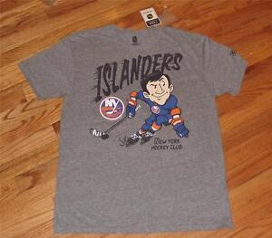 NEW NWT Vintage Style CCM NHL New York Islanders Mens T-Shirt S L XL XXL *T1