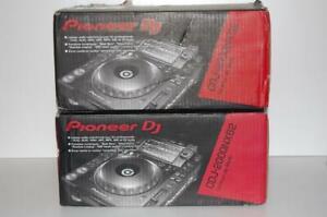 Pair Pioneer CDJ 2000 NXS2 Nexus 2 CD/USB Rekordbox turntables Open BOX L@@@K!
