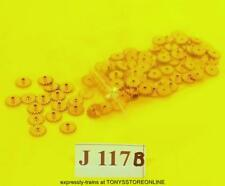 j117b BULK BONUS BUY jouef spares 100x 18 point brass gear wheels app not known