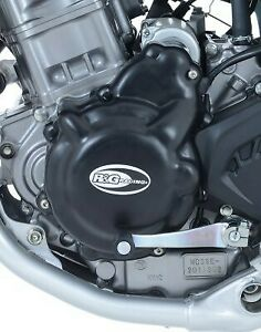 Engine Case Cover PAIR Honda CRF250L 2019 R&G Black