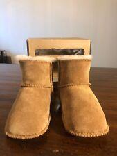 UGG Australia 5202 Erin Infant Baby Boots Size Large, Sand Color Chestnut