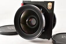 【Linhof Mark EXC+5】 Schneider Super Angulon 90mm F5.6 MC Lens From Japan Z28Y
