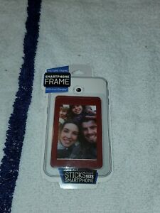 Picture Frame Smartphone Frame Android & Iphone Red