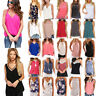 Womens Summer Vests Tops Sleeveless Shirt Blouse Ladies Casual Tanks Top T Shirt