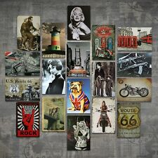 VINTAGE RETRO STYLE METAL TIN SIGN POSTER SIGN PLAQUE GARAGE CAR CAVE WALL HOME