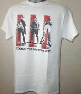 The Good The Bad And The Ugly Film T Shirt Clint Eastwood 60s Epic Western Z382