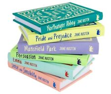 Jane Austen Deluxe 6 Books Young Adult Collection Hardback Gift Pack Box Set