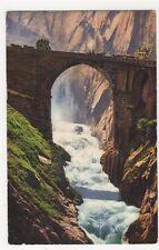 Switzerland, Gotthardstrasse, die Teufelsbrucke Postcard, B263