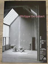 DE GOBERT Philippe Affiche originale Toulon ARCHITECTURE PHOTOGRAPHIE 2006