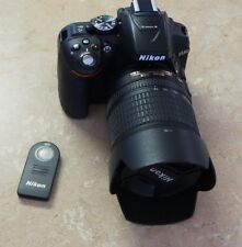 Nikon D D5300 24.2MP Digital SLR Camera - Black (Kit w/ AF-S DX VR 18-105mm Len…