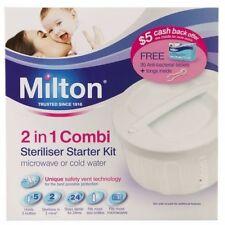 BEST PRICE! MILTON 2 IN 1 COMBI METHOD STARTER KIT 5 LITRE DISCOUNT CHEMIST
