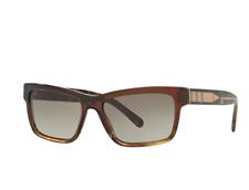Sunglasses Burberry BE 4225 35988E BROWN GRADIENT STRIPED. BRAND NEW IN THE BOX