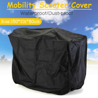 150CM Mobility Scooter Wheelchair Waterproof Storage Cover UV Rain Protector