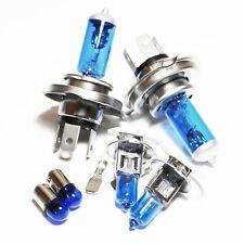2x H4 Xenon Bulbs 100w 12v White To Fit Headlight Opel Manta B 1.9 S
