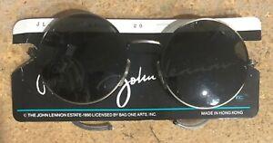 JOHN LENNON Eagle Eyewear Eyeglasses 1990 Granny Round Glasses Specs Beatles NEW