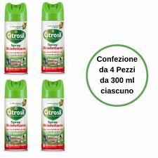 Citrosil Spray Disinfettante agli Agrumi Home Protection Confezione da 4 Pezzi d