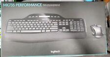 Logitech Wireless Desktop MK710 Keyboard M510 Mouse w/ Unifying Receiver MK735