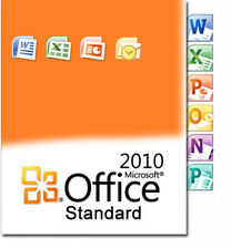 Microsoft Office 2010 Standard Key MS Office STD | Version complète Original Allemand