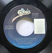 Country 45 Merle Haggard - If You Want To Be My Woman / Someday We'Ll Know On Ep