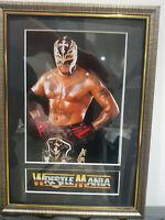 Rey Mysterio 619 Mounted & Framed Retro Memorabilia Retro Wrestling
