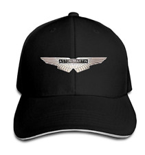 Aston Martin Logo Rock Caps Sports Black